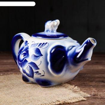 Чайник для заварки слоник 1 л