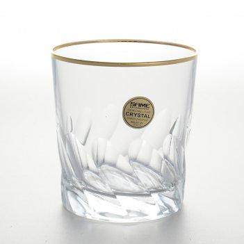 Набор 6 стаканов для виски палермо золото 300 мл