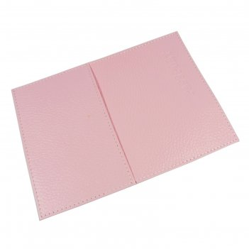 Обложка для паспорта o-81-331, 9,5*0,3*14, розовый