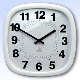 Настенные часы b&s p206 wh-a