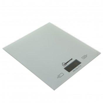 Весы кухонные homestar hs-3006, электронные, до 5 кг, серебристые