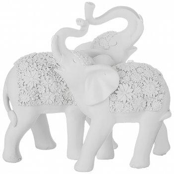 Статуэтка слоны 18,5*9,5*17 см. серия камила (кор=12шт.)