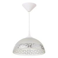 Светильник  колпак 1 лампа e27 40вт белый д.250