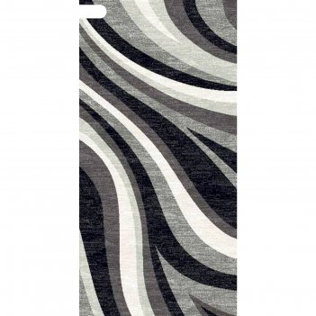Ковровая дорожка silver d234, 100 х 3000 см, цвет gray