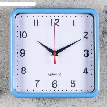Часы настенные, серия: классика, футроно, 20х20 см, микс