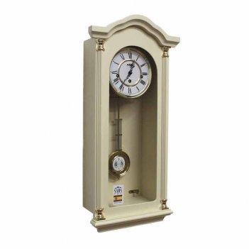 Настенные механические часы sars 8535-341 ivory