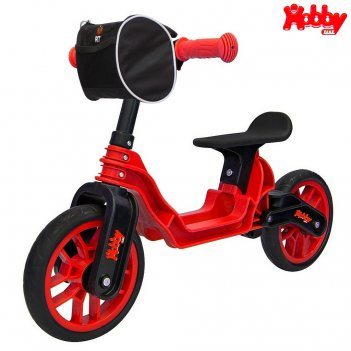 Ор503 беговел hobby bike magestic red black