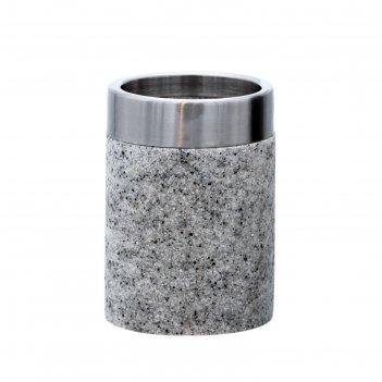 Стаканчик stone, цвет серый