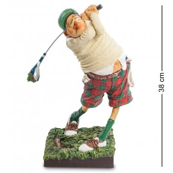 Fo-85504 статуэтка гольфист (fore..! the golfer. forchino)