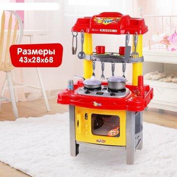 Игровой набор кухня хозяйки, световые и звуковые эффекты, работает от бата