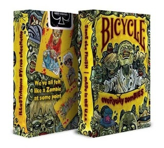 Карты для покера bicycle everyday zombies