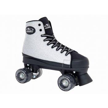 Роликовые коньки hudora roller skates silver glamour, gr.  38 (13062)
