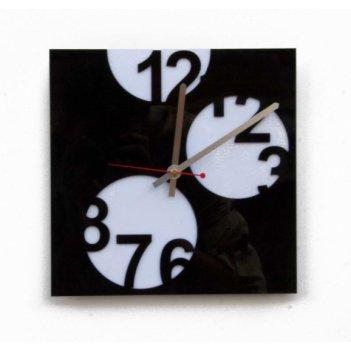 Красивые настенные часы прятки cl129 26х26см