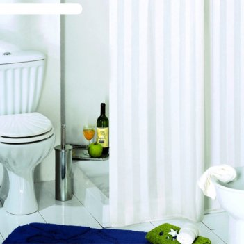 Штора для ванной rigone, 180х200 см, белый