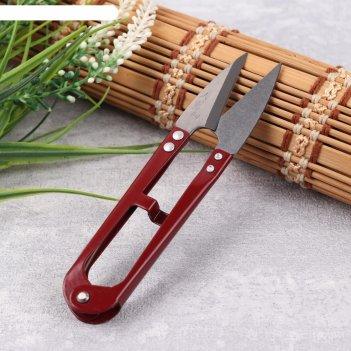 Ножницы для обрезки ниток, 12,5 см, цвет микс