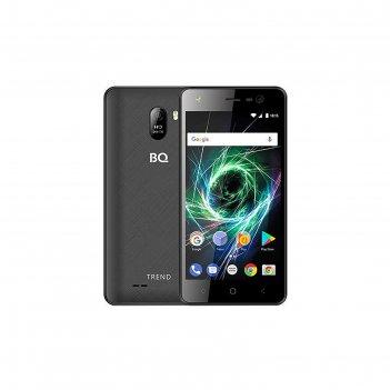Смартфон bq s-5009l trend lte black 5 ips,1280х720,1gb,8gb ram, 5mp+5mp, ч