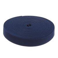 Резинка, ширина 25мм, 10м, цвет синий