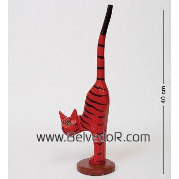 28-042 статуэтка кот полосатый 42 см