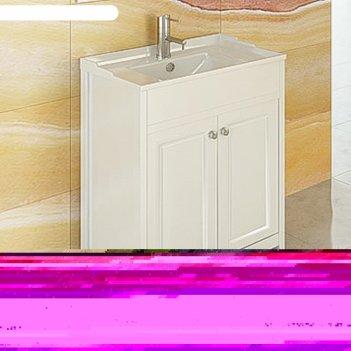 Тумба-умывальник для ванной  тбилиси-70 белая с раковиной comforty xd-f70