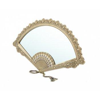 Зеркало веер 40х22 см.