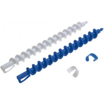 Бигуди 7 мм спиральные, в комплекте с зажимами , 12 штук в упаковке