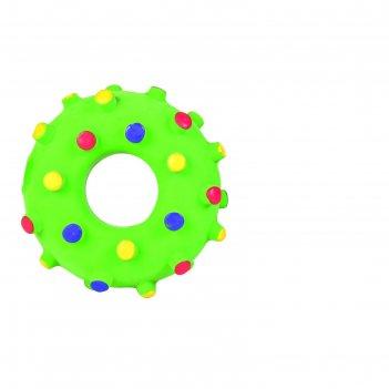 Игрушка trixie кольцо игольчатое, ф 8 см, латекс