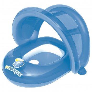 Круг для плавания с сиденьем и тентом, 80 х 85 см