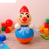 Игрушка-неваляшка клоун