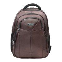 Рюкзак для школы и офиса toff, 46х35х25см, объем 32 л, ткань, коричневый