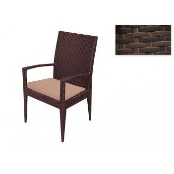 Садовая мебель: стул (65*57*96см.) со съемным сиденьем (полиэстер наполнит