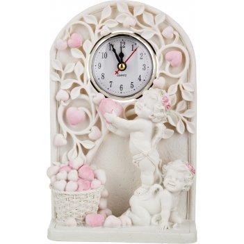 Часы кварцевые настольные коллекция amore 14*6 см.высота=23 см.диаметр циф