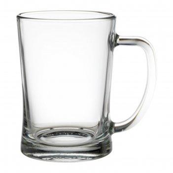 Пивная кружка, прозрачное стекло мьёд