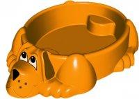 Песочница-бассейн собачка 115x92x26.5 в асс-те