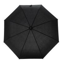 Зонт автоматический, racer flat 010101, r=51,5см, цвет чёрный