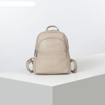 Рюкзак молод l-892071, 24*9*29, отд на молнии, 2 н/кармана, хаки