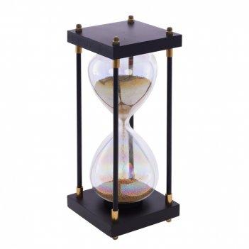 Часы песочные (1 мин 30 сек), l9 w9 h25 см