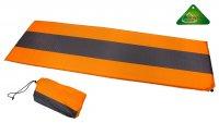 Коврик туристический самонадувающийся 188х63х2,5 см, цвет: оранжевый