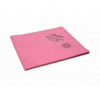 Салфетка для профессиональной уборки микронквик 38х40 см, цвет красный