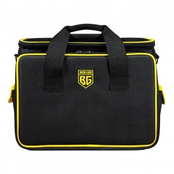 Сумка-органайзер berger bg1204, 41 карман, 3 отделения, наплечный ремень