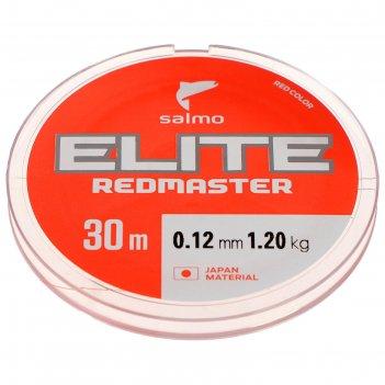Леска моно. зим. salmo elite redmaster 30 м, 0,12 мм