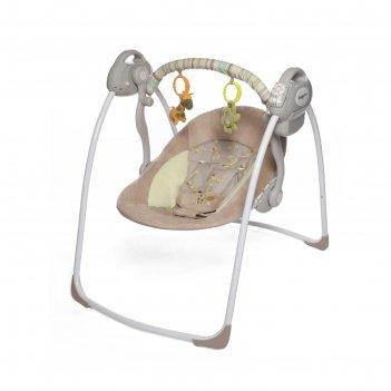Электронные качели riva с адаптером baby care