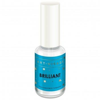 Средство по уходу за ногтями art-visage «бриллиантовое покрытие»