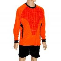 Форма футбольная вратаря р. 3хl, рост 175-180 см, цвет черный-оранжевый