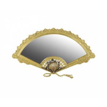 Зеркало 40х22 см веер