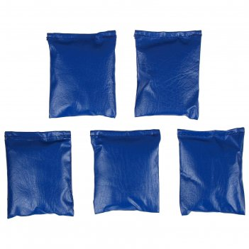 Мешочки для метания, набор 5 шт. по 200 г, цвета микс