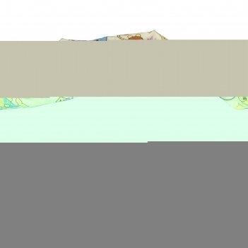 Лежанка пухлик-звездочка коты, 45 см