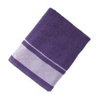 Полотенце махровое банное fiesta kvadrro, размер 70х130 см, цвет синий, 38