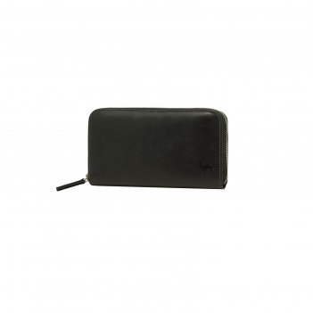 Портмоне-клатч 19x2.5x11.2 см, цвет чёрный