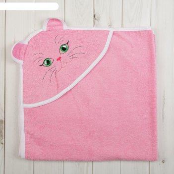Уголок детский «киска», размер 120 х 120 см, цвет розовый