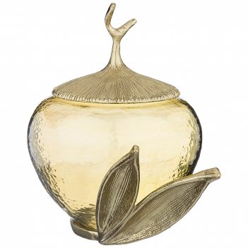 Ваза с крышкой pan de oro 22*17*23 см (кор=4шт.)